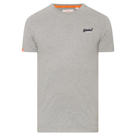 Vintage Crew Neck T-Shirt Grey