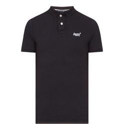 Classic Pique Polo Shirt Navy