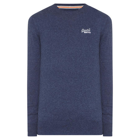 Crew Neck Sweater Blue