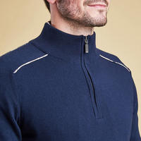 Wick Half Zip Sweater Navy