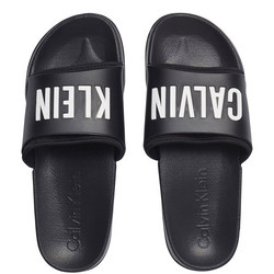 Rubber Slides Black