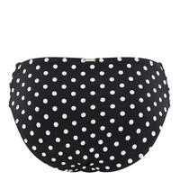 Anya Spot Bikini Brief Black