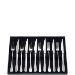Windsor 12 Piece Steak Knife/Fork Set