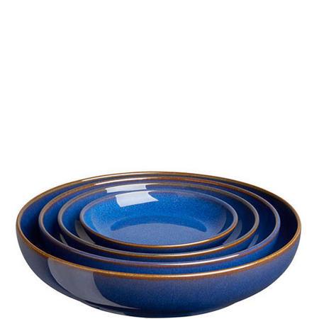 Four-Piece Nesting Bowl Set Blue