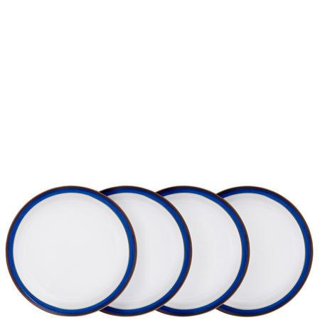 Four-Piece Dinner Plates Set Multicolour