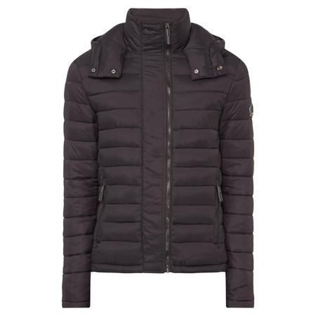 Fuji Quilted Jacket Black