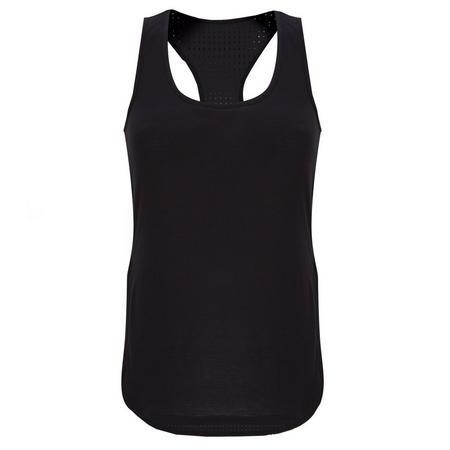 Air Singlet Vest Black