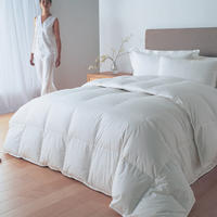 Hungarian Goose Down 13.5 Tog Silver Duvet Collection