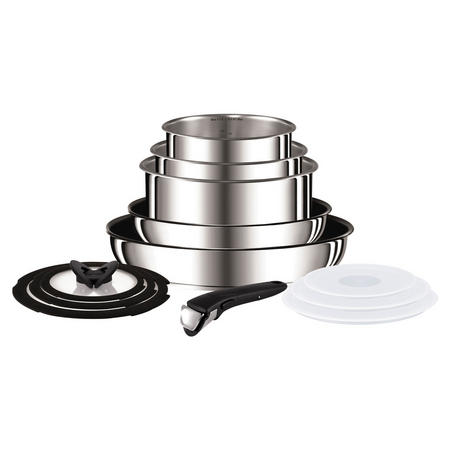 Ingenio Stainless Steel 13 Piece Set  Stainless Steel