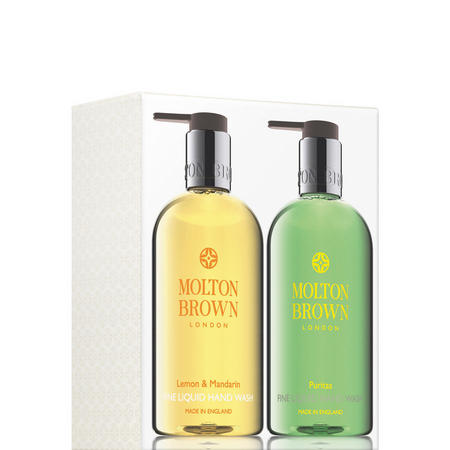 Lemon & Mandarin and Puritas Hand Wash Set