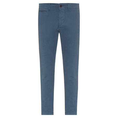 Branded Patch Jeans Blue