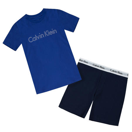 Boys Short Pyjamas Set Blue