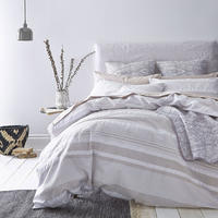 Seersucker Stripe Duvet Cover Set