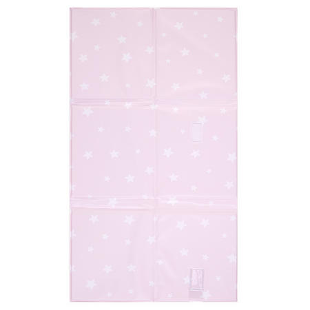 Star Foldable Changing Mat Pink