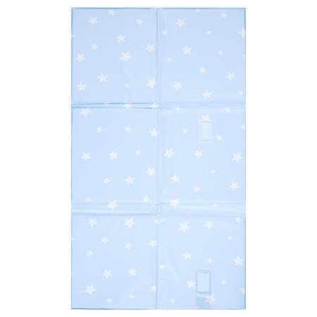 Star Foldable Changing Mat Blue