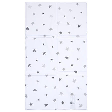 Star Foldable Changing Mat Grey