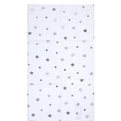 Star Foldable Changing Mat Grey