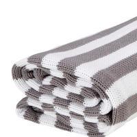 Stripe Blanket Grey