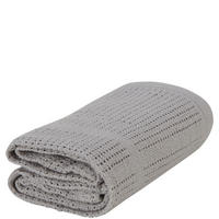 Two-Pack Cellular Blankets Grey