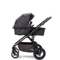 Cupla Duo Push Chair Black