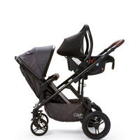 Cupla D Push Chair Seat Black