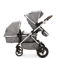 Cupla D Push Chair Seat Grey