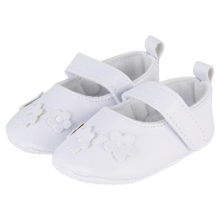Flower Shoes White
