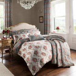 Silbury Grey Coordinated Bedding