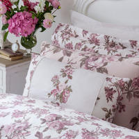 Blooming Floral Light Pink Cushion