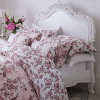 Blooming Floral Light Pink Standard Pillowcase