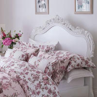 Blooming Floral Light Pink Oxford Pillowcase