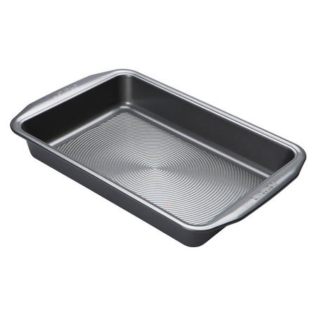 Cake Tin Rectangular Black