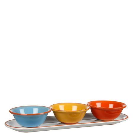 Alfresco 3 Dip Bowls On Tray