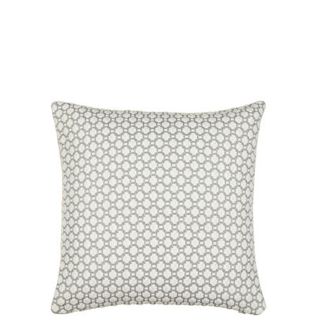 Croft Collection Weave Cushion Blue Grey