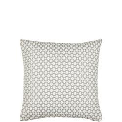 Croft Collection Weave CushionBlue Grey