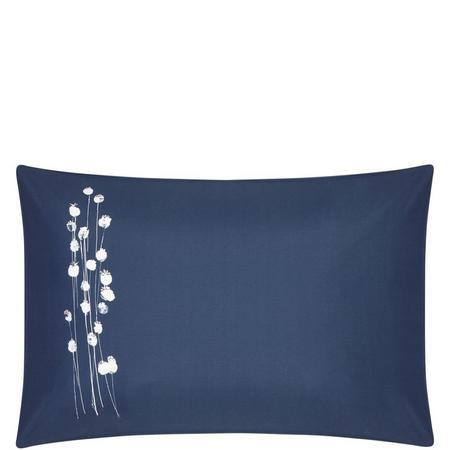 Croft Collection Poppyheads Standard Pillowcase