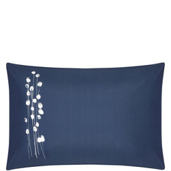 Croft Collection Poppyheads Standard Pillowcase