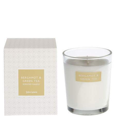 Bergamot And Green Tea Boxed Candle