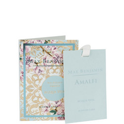 Scented Card Amalfi Aqua Viva