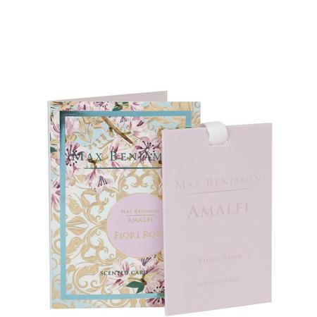 Scented Card Amalfi Fiori Rosa