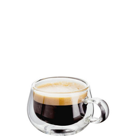 Double Walled Espresso Glass Set Of 2