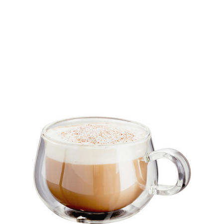 Double Walled Cappuccino Glass Set of 2