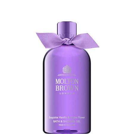 Exquisite Vanilla & Violet Flower Bath & Shower Gel