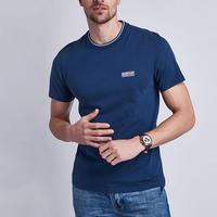 Deals Tipped T-Shirt Blue