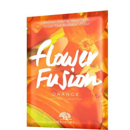 Flower Fusion Orange Sheet Mask