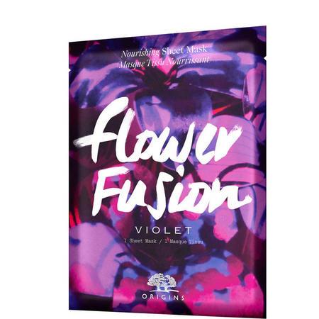 Flower Fusion Violet Sheet Mask