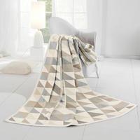 Dreiecke Blanket Natural