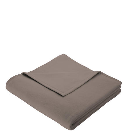 Cotton Home Blanket Taupe
