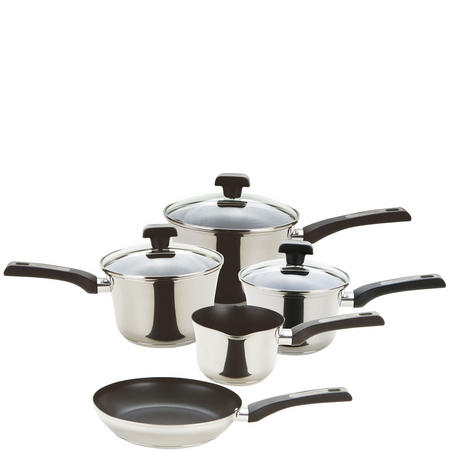 Dura Steel 5 piece set Stainless Steel