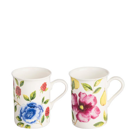 English Gardens Bone China Mugs